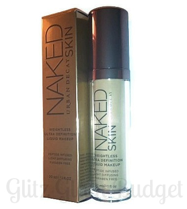 Urban Decay NAKED SKIN Foundation Review