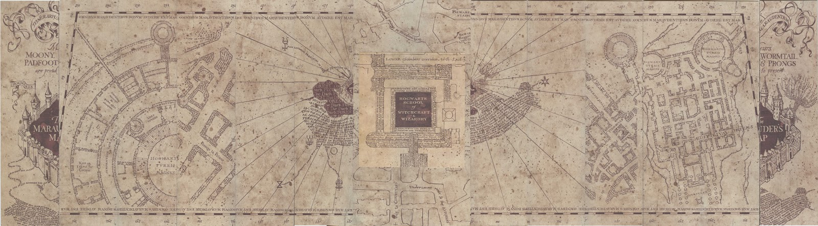 Genius image regarding marauders map printable