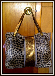 SK WiLBUR purse handbag traveltote animalprint
