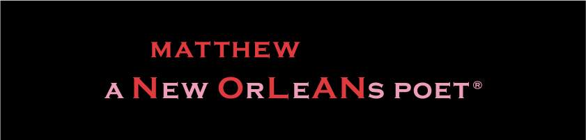 a New OrLeANs poet®