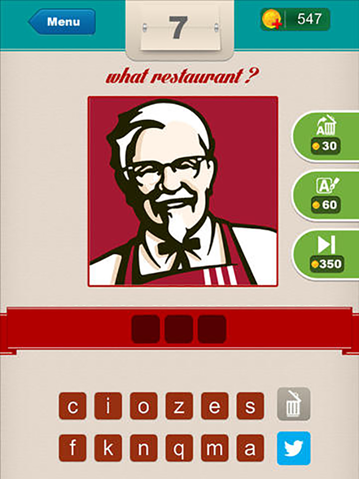 What Restaurant ? Free App Game By Yasarcan Kasal