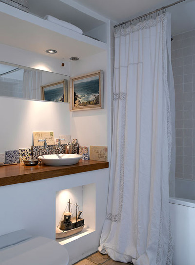 Ideas Para Decorar Un Baño Moderno:Decora el hogar: Decoración de pequeños baños