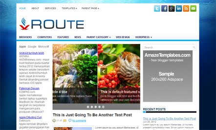 Business Solutions Blogger Template