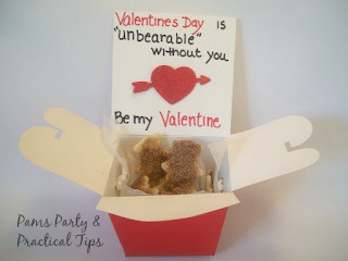 Beary Valentine's Day Crackers