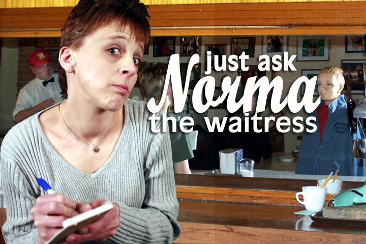 Talk on the street is Nosy Norma gets all her stories while waitressing at Edies Cafe!