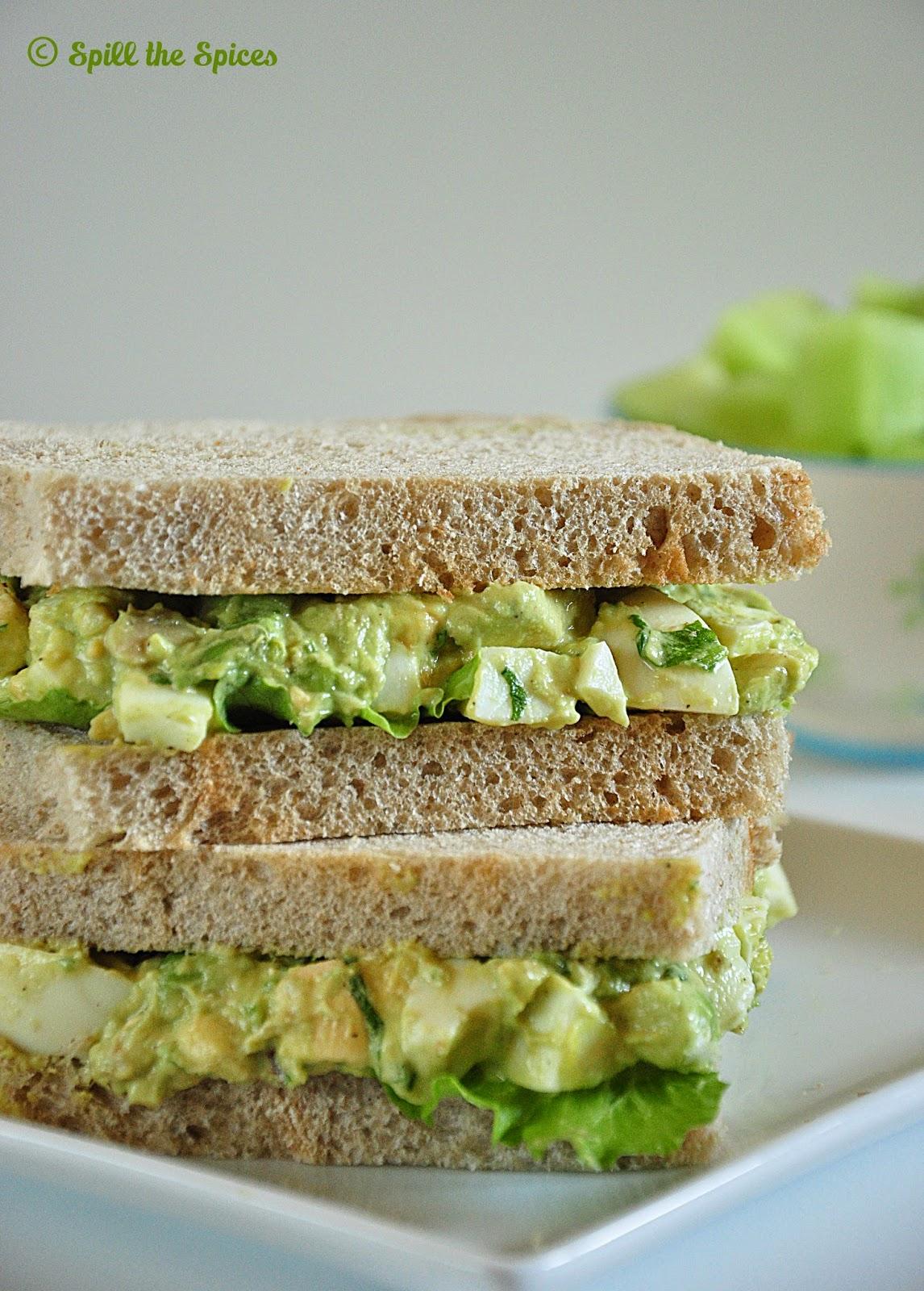 avocado egg salad sandwich recipe sandwich with avocado and egg salad ...