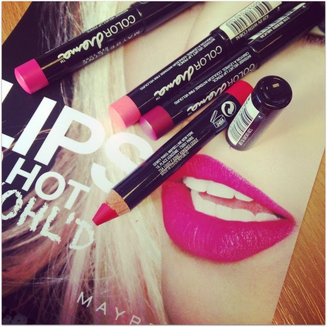 Maybelline Colour Drama Intense Velvet Lip Pencils