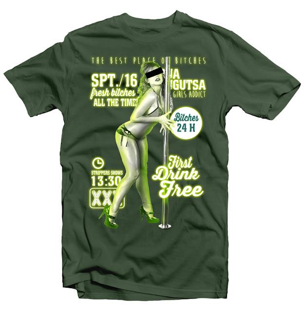 stripper tshirtt design