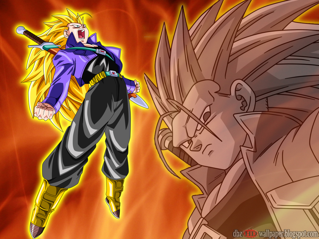 Trunks Future : Super saiyan 3 # 001 - All About Dragon ...
