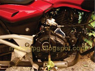 Konverter Kit LPG untuk Sepeda Motor: Bajaj Pulsar dengan Bahan Bakar