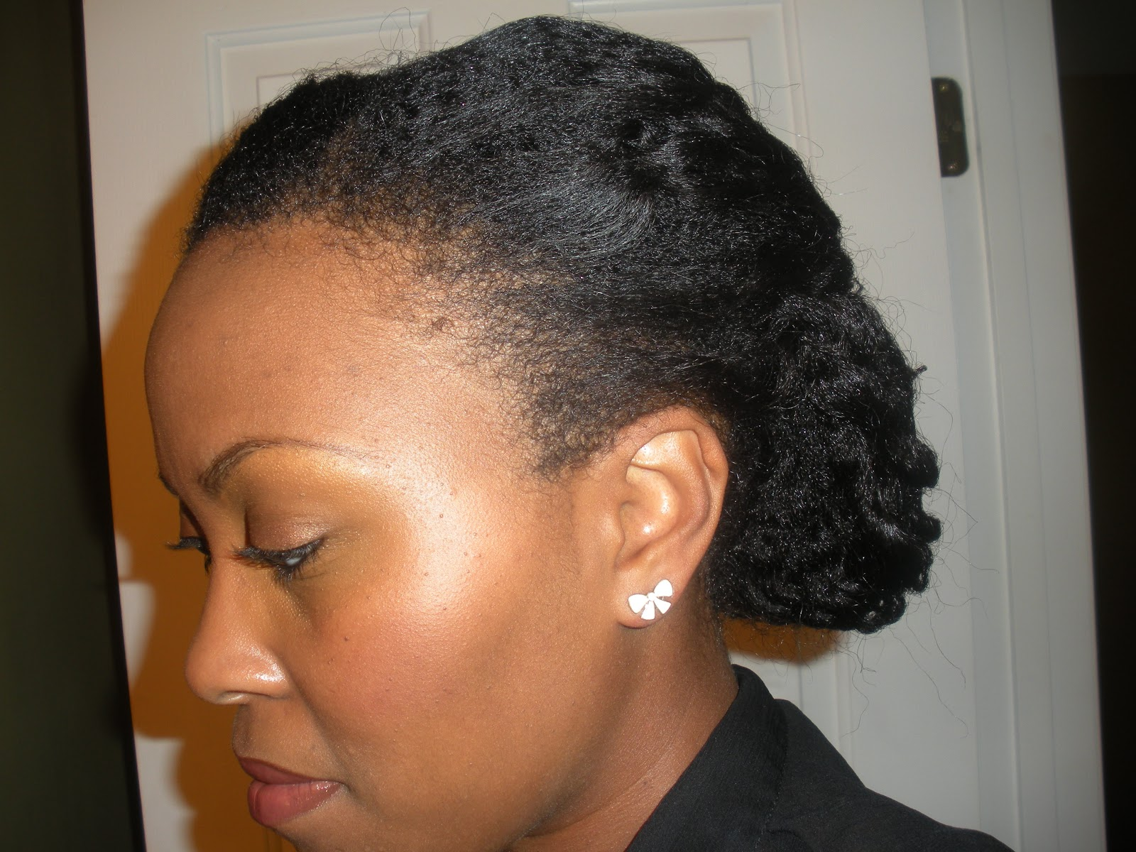 Fancy Natural Hair Styles