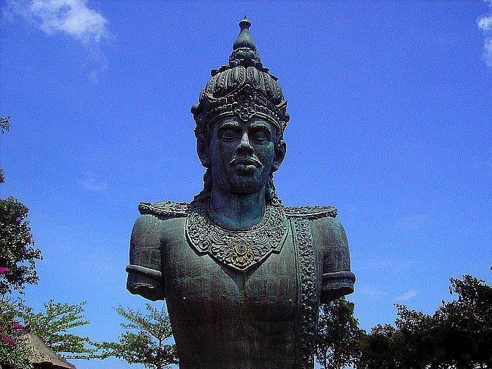 Vishnu statue body parts