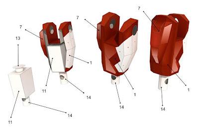 Paper Replika, seni merangkai kertas model 3D - terbaru5.blogspot.com
