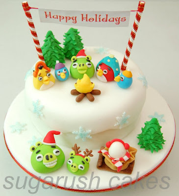 Angry Birds Cake from Sugarush Cakes and Pastries