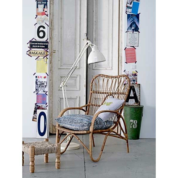 Tuindesign rotan stoelen revival of the sixties for House doctor stoel