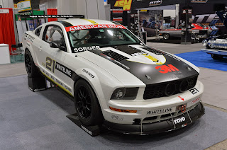 NASCAR-powered 2008 Ford Mustang AIX Race Car
