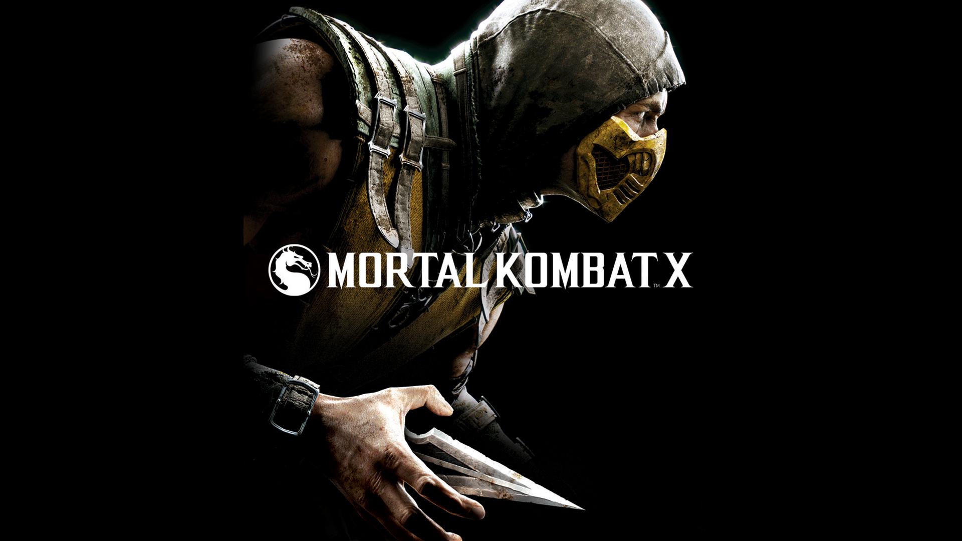 Scorpion Mortal Kombat X Game HD Wallpaper