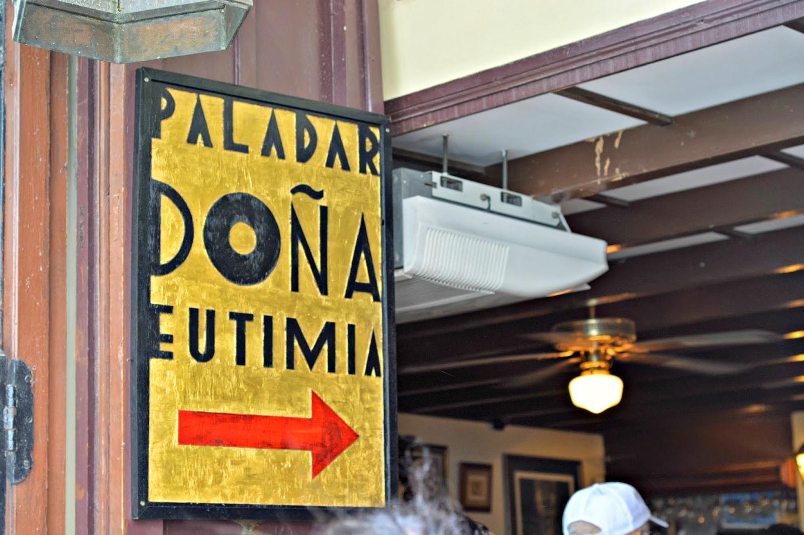 Paladar Dona Eutimia Havana Cuba