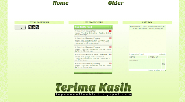 Tempahan edit/design/customize blog murah