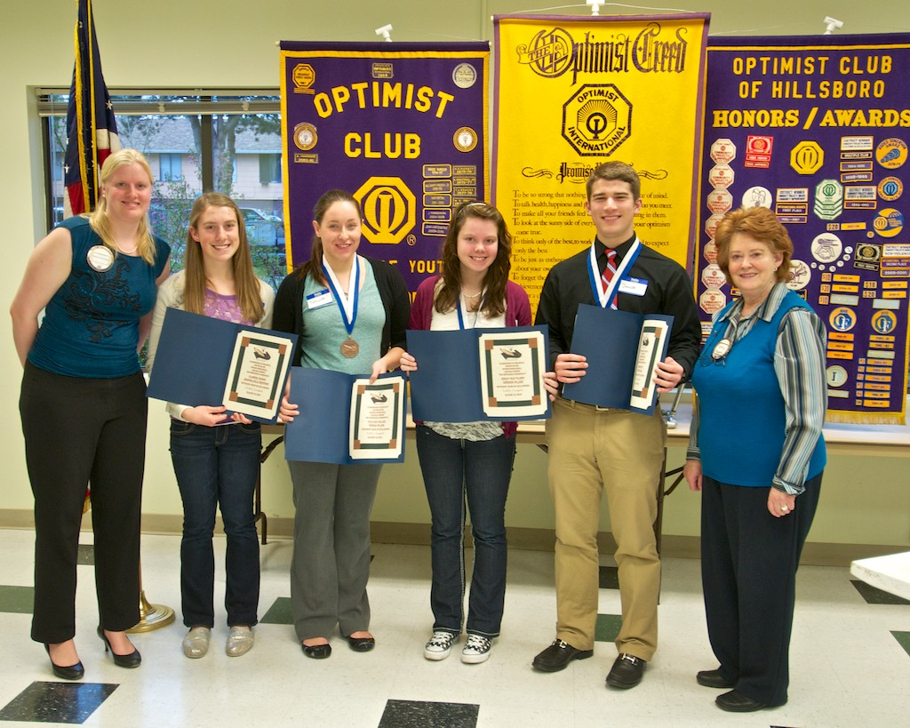 optimist club essay contest 2012