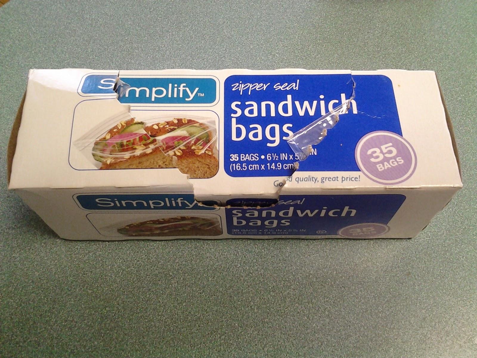 Simply Sandwich Bags