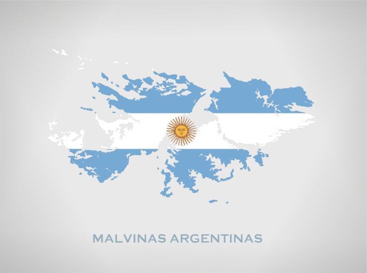 Her U00e1ldica En La Argentina M U00e1s Banderas Para Las Malvinas