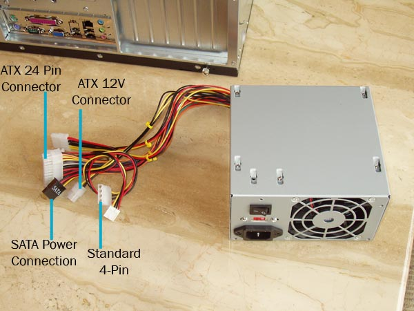 Laptop & Computer Repair Blog: Diagnose and Replace a Dead PSU Power ...
