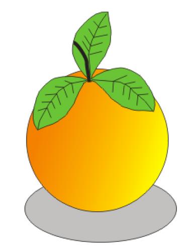 Menggambar Jeruk Dengan Corel Draw 12 ~ Blog edukasi