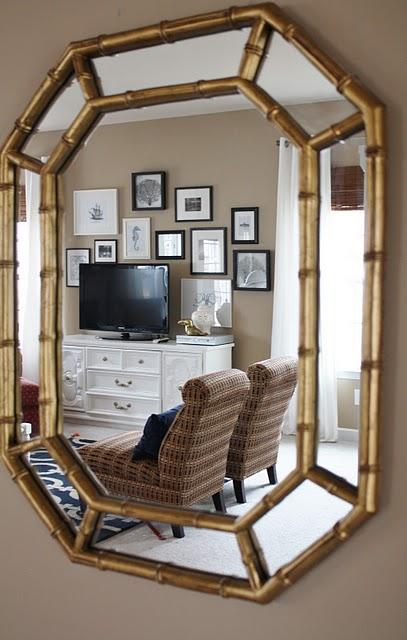 iu0027ve seen many fellow find faux bamboo octagon mirrors at tag sales and thrift stores from 8 to 30 so i knew this mirror should be a steal