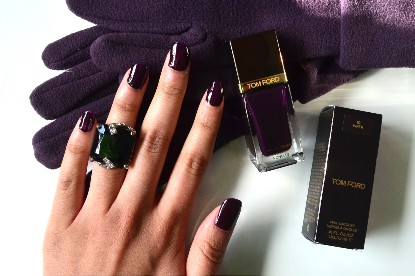 MishMreow: Tom Ford\'s Viper Nail Lacquer for Autumn