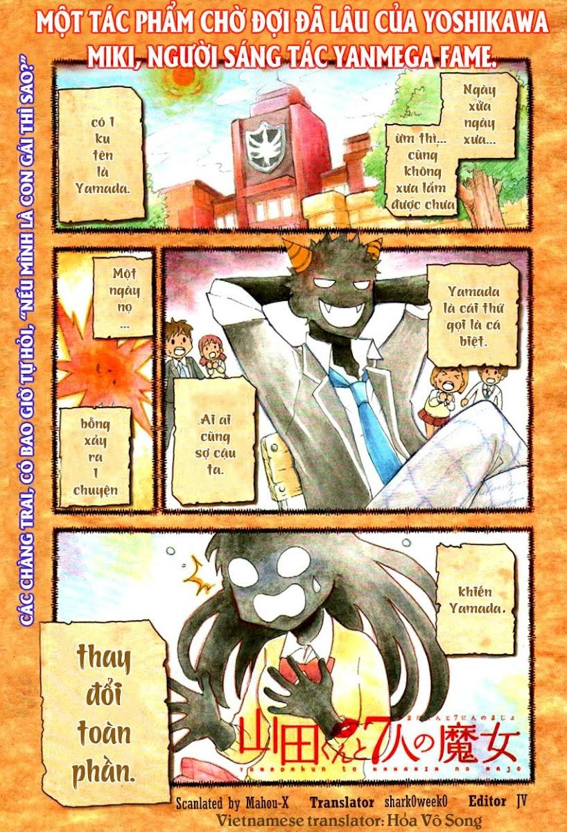 Yamada kun to 7 nin no Majo Chap 1 - Trang 3
