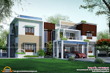 Flat Roof Modern House Plans Designs