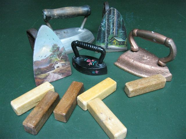 pattern weights, grandfather, weighted wood blocks