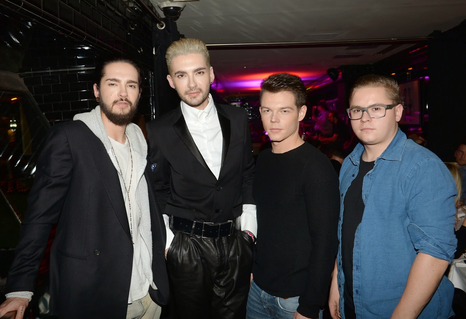 NEW HQ PICS] Tokio Hotel @ Paris Fashion Week womenswear F/W 2015 ...