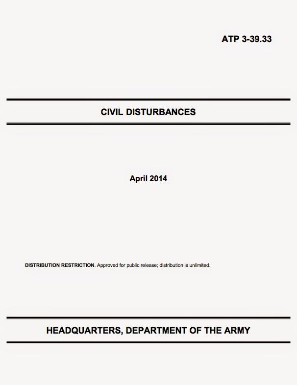 U.S. Army Techniques Publication 3-39.33: Civil Disturbances, Headquarters, Department of the Army, April 2014