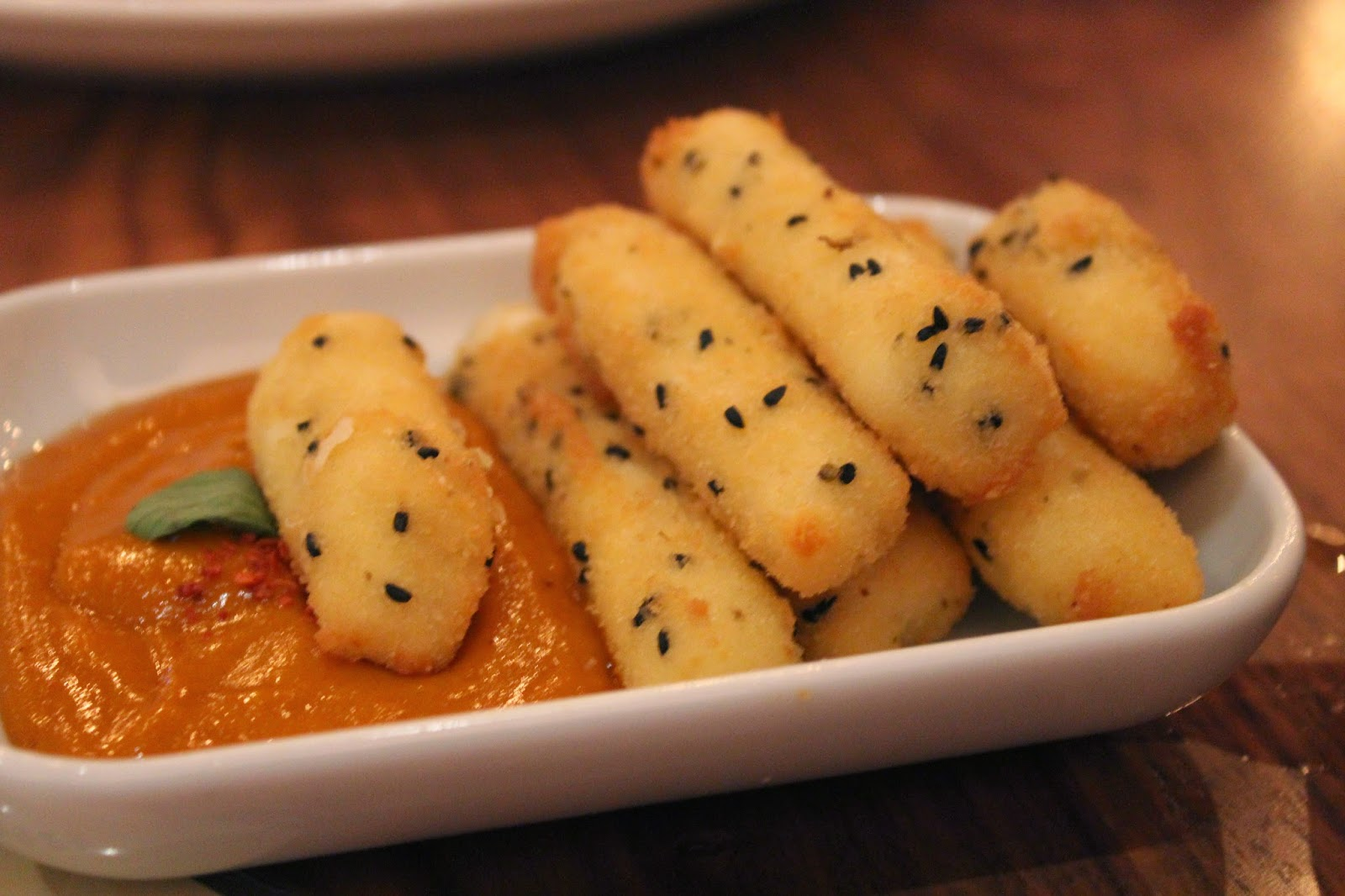 Haloumi fries at Sarma, Somerville, Mass.