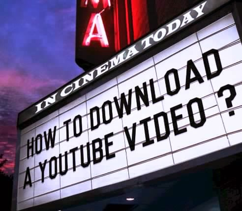 how to download or save youtube videos