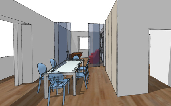 appartamento a Roma: la proposta di CAFElab