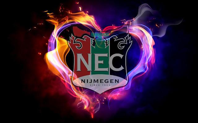 NEC achtergrond met logo