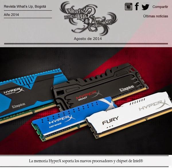 memoria-HyperX-soporta- nuevos-procesadores-chipset-Intel-Kingston