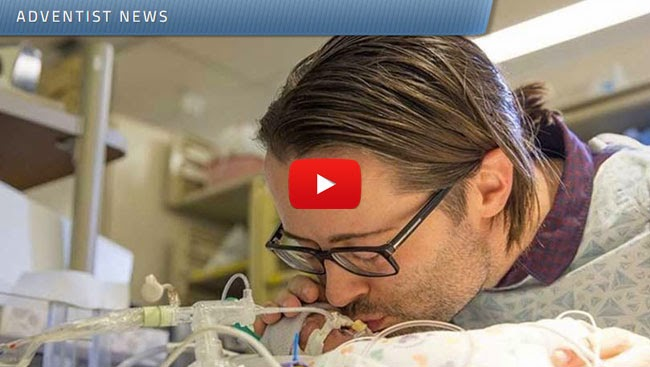 Video of an Adventist Father Singing Beatle's Blackbird to His Baby in Incubator Goes Viral