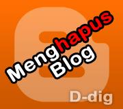 bagaimana cara menghapus akun blog blogger blogspot