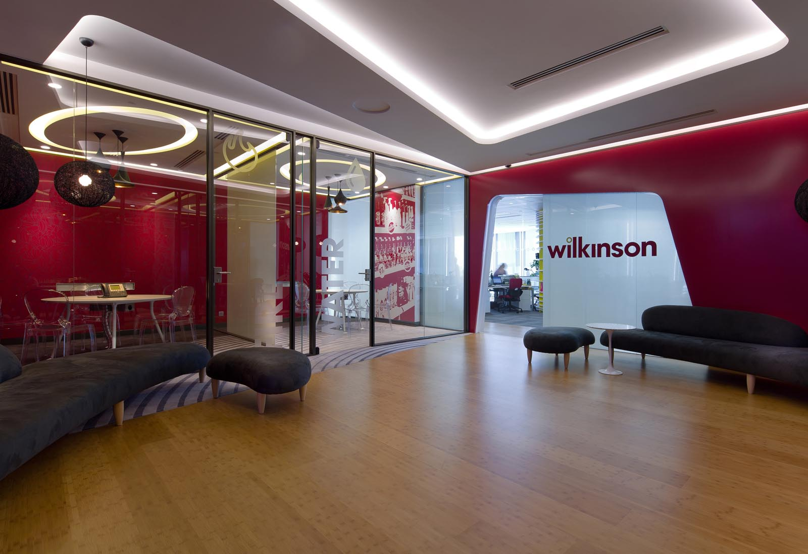 Imagine these corporate office interior design wilkinson 39 s asia headquarters hong kong aedas - Office interior design ...