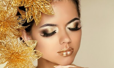 How to apply Glitters