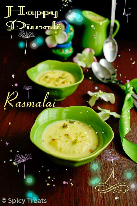 rasmalai recipe / homemade rasmalai recipe