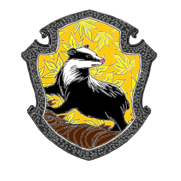 The gallery for --> Gryffindor House Crest Black And White