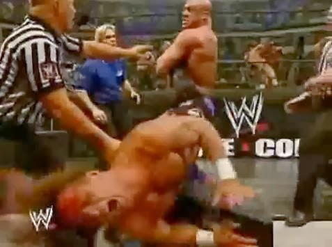 Kurt Angle Shawn Michaels HBK 2005 Royal Rumble WrestleMania XX match