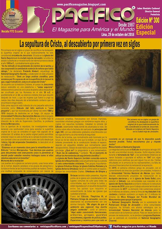 Revista Pacífico Nº 300 Edición Especial en Exclusiva