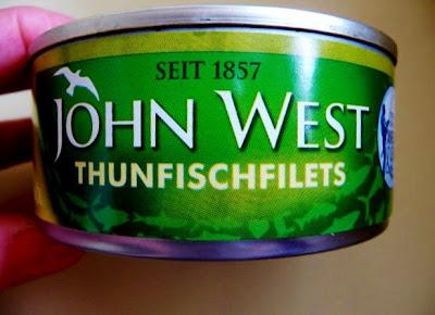Thunfischfilets in Olivenöl