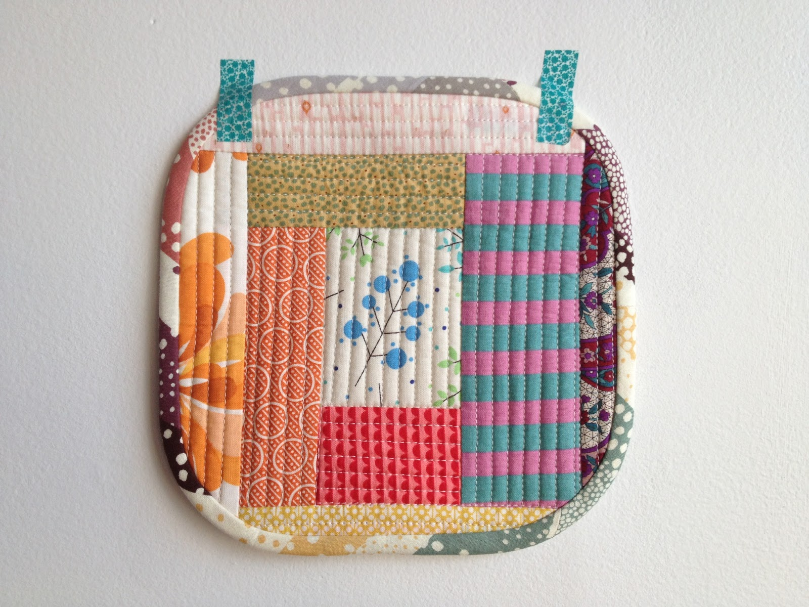 Salty oat modern handmade quilts rounded corners a for Best out of waste for class 5
